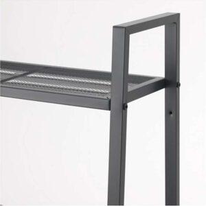 ЛЕРБЕРГ Секция полок темно-серый 60x148 см - Артикул: 703.788.62