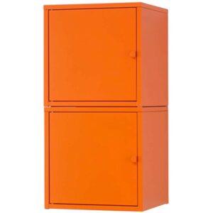 ЛИКСГУЛЬТ Комбинация д/хранения оранжевый/оранжевый 35x70 см - Артикул: 192.440.41