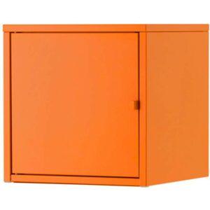 ЛИКСГУЛЬТ Шкаф металлический/оранжевый 35x35 см - Артикул: 103.851.15