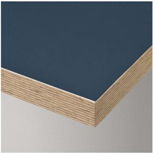 ЛИННМОН Столешница синий черно-синий | 603.554.94