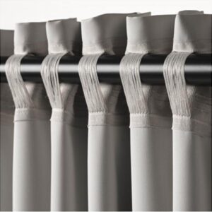 МАЙГУЛЛ Гардины, блокирующие свет, 1 пара светло-серый 145x300 см - Артикул: 903.486.28