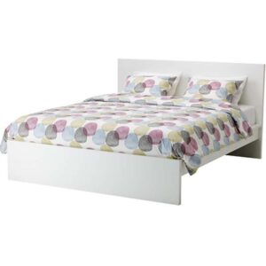 МАЛЬМ Каркас кровати, высокий, белый 180x200 см. Артикул: 892.110.56