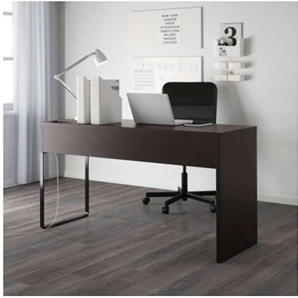 МИККЕ Письменный стол черно-коричневый 142x50 см - Артикул: 803.739.20