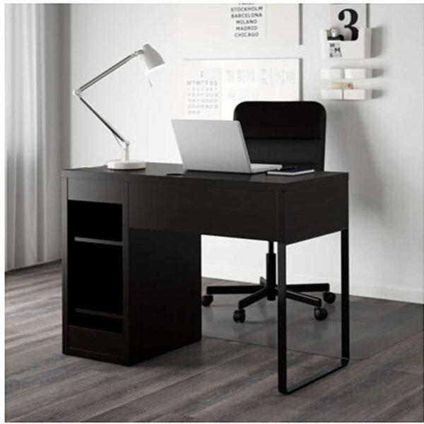 МИККЕ Письменный стол черно-коричневый 105x50 см - Артикул: 203.739.18