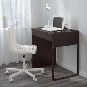 МИККЕ Письменный стол черно-коричневый 73x50 см - Артикул: 403.739.22