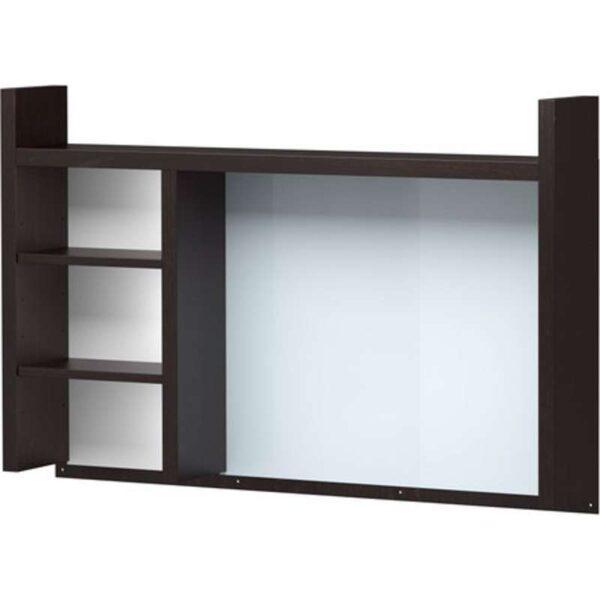 МИККЕ Высокий дополнит модуль черно-коричневый 105x65 см - Артикул: 303.739.13