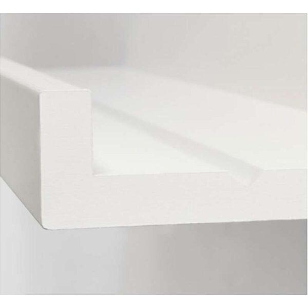 МОССЛЭНДА Полка для картин белый 115 см - Артикул: 603.718.75