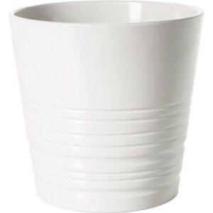 МУСКОТ Кашпо белый 15 см - Артикул: 103.781.91
