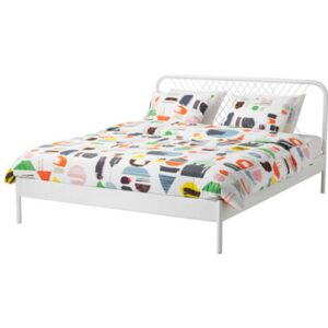 НЕСТТУН Каркас кровати, белый 160x200 см. Артикул: 892.110.61