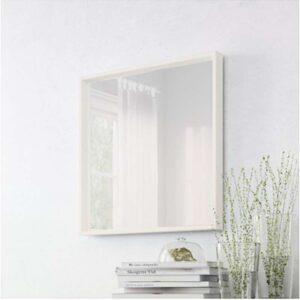 НИССЕДАЛЬ Зеркало белый 65x65 см - Артикул: 103.615.05