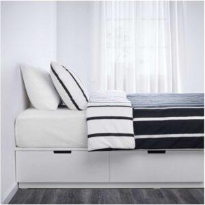 НОРДЛИ Каркас кровати с ящиками, белый 180x200 см. Артикул: 803.613.90