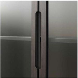 РЕЖИССЁР Шкаф-витрина коричневый 118x203 см - Артикул: 403.623.39