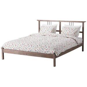 РИКЕНЕ Каркас кровати, серо-коричневый 140x200 см. Артикул: 901.900.53