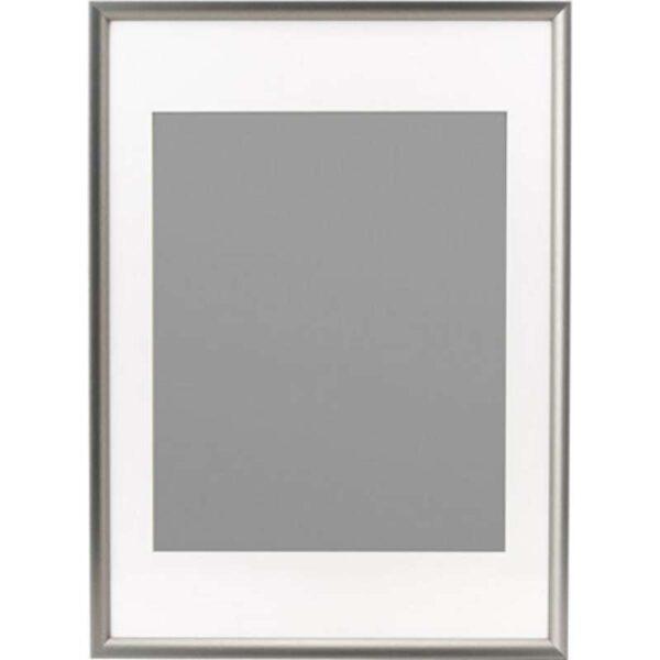 СИЛВЕРХОЙДЕН Рама серебристый 50x70 см - Артикул: 003.718.64