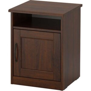 СОНГЕСАНД Тумба прикроватная коричневый 42x40 см - Артикул: 103.674.42