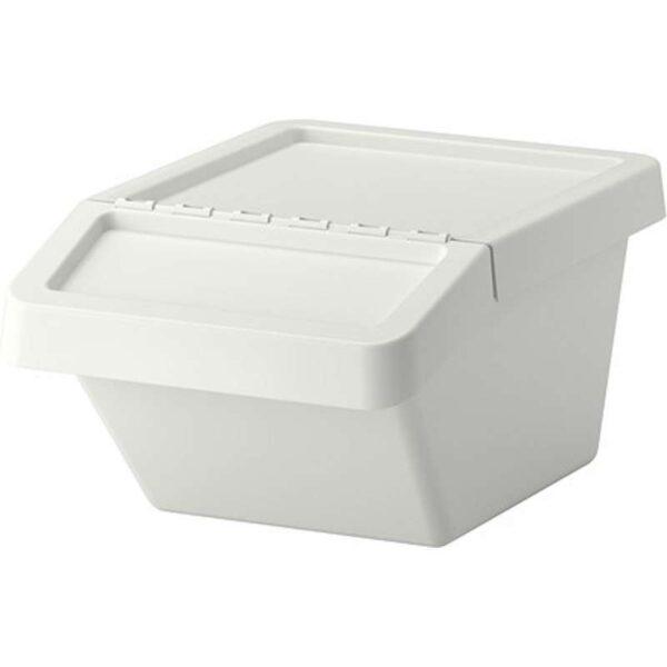 СОРТЕРА Бак мусорный белый 37 л - Артикул: 003.752.54