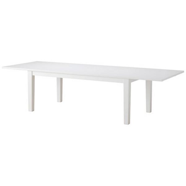 СТУРНЭС Раздвижной стол белый 201/247/293x105 см - Артикул: 802.831.99
