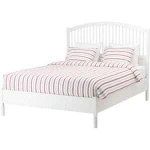 ТИССЕДАЛЬ Каркас кровати, белый + ламели Лурой, 160x200 см. Артикул: 792.111.65