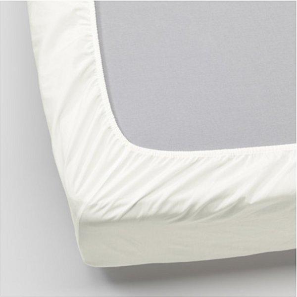 УЛЛЬВИДЕ Простыня натяжная, белый 90x200 см. Артикул: 703.511.60
