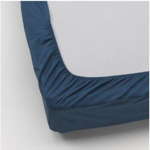 УЛЛЬВИДЕ Простыня натяжная, темно-синий 140x200 см. Артикул: 203.511.53