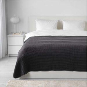 ВОРЕЛЬД Покрывало темно-серый 230x250 см - Артикул: 503.818.65
