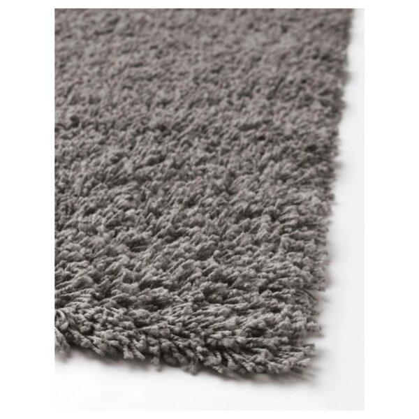 ХАМПЭН Ковер, длинный ворс, серый 160x230 см [403.707.73]