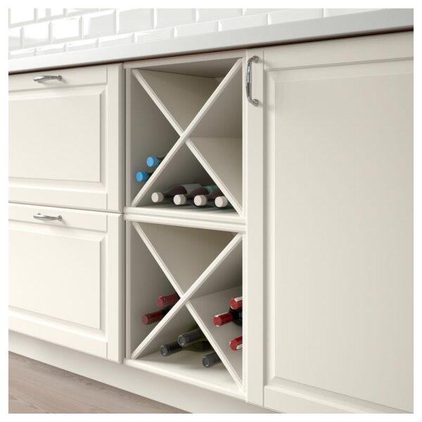 ТОРНВИКЕН Шкаф для вина, белый с оттенком 40x37x40 см [903.590.23]