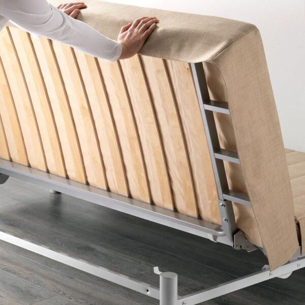 БЕДИНГЕ 3-местный диван-кровать, Шифтебу бежевый [193.091.22]