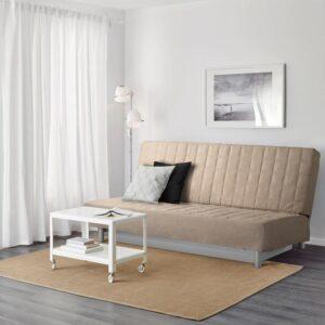 БЕДИНГЕ 3-местный диван-кровать, Шифтебу бежевый [193.091.17]