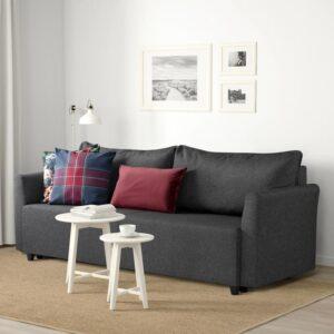 БРИССУНД 3-местный диван-кровать, Рудорна темно-серый [204.472.88]
