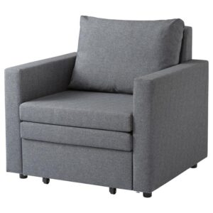 ВАТТВИКЕН Кресло-кровать, лерхага светло-серый [804.507.96]