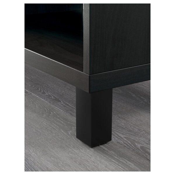 БЕСТО Шкаф, черно-коричневый 60x40x202 см - 292.849.89