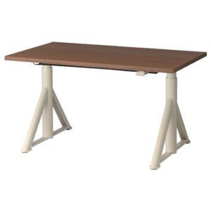ИДОСЕН Стол/трансф, коричневый/бежевый 120x70 см - 892.809.26