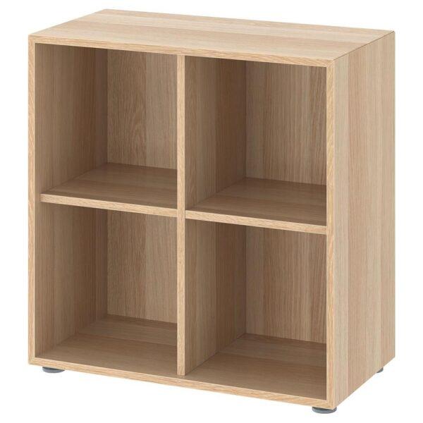 ЭКЕТ Комбинация шкафов с ножками, под беленый дуб 70x35x72 см - 393.068.77
