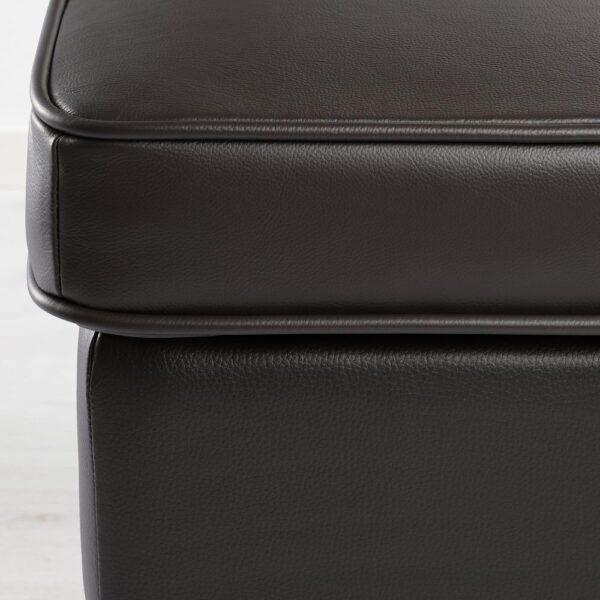 СТРАНДМОН Табурет для ног, Гранн/Бумстад темно-коричневый - 704.532.53