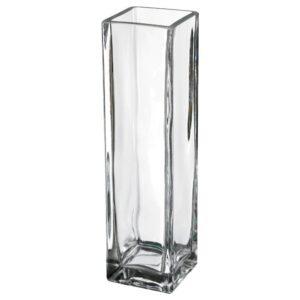 РЕКТАНГЕЛЬ Ваза, прозрачное стекло 21 см | 204.638.67