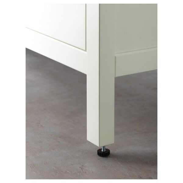 ХЕМНЭС / ОДЕНСВИК Шкаф для раковины с 2 ящ, белый/РУНШЕР смеситель 103x49x89 см | 992.934.81