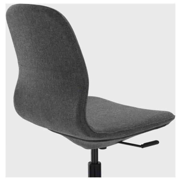 ЛОНГФЬЕЛЛЬ Конференц-стул, Гуннаред темно-серый/черный | 992.097.98