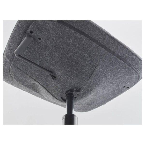 ЛОНГФЬЕЛЛЬ Конференц-стул, Гуннаред темно-серый/черный   792.098.03