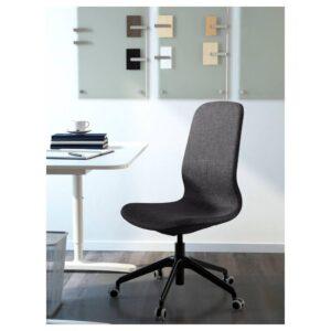 ЛОНГФЬЕЛЛЬ Рабочий стул, Гуннаред темно-серый/черный | 692.100.10