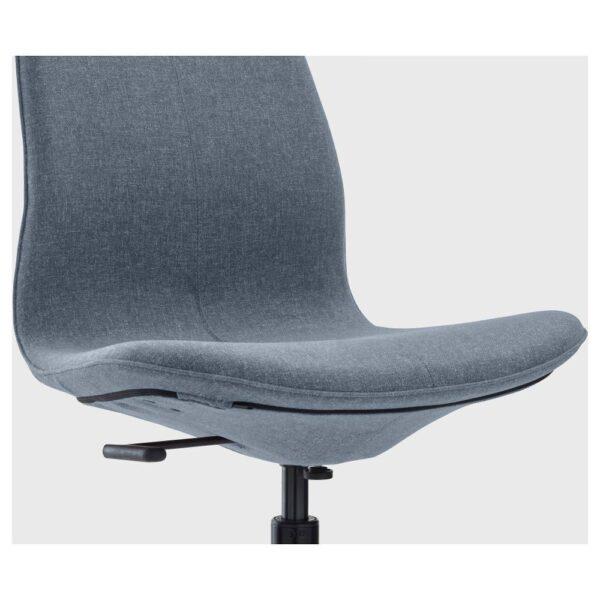 ЛОНГФЬЕЛЛЬ Рабочий стул, Гуннаред синий/черный | 892.100.09
