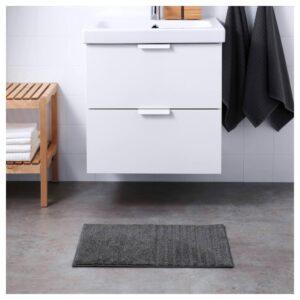 ВИННФАР Коврик для ванной, темно-серый 40x60 см | 304.472.83
