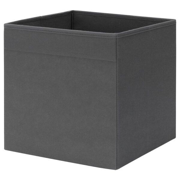 ФЮССЕ Коробка, темно-серый 30x30x30 см   504.535.79