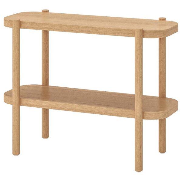ЛИСТЕРБИ Консольный стол, белая морилка дуб 92x38x71 см   304.090.40