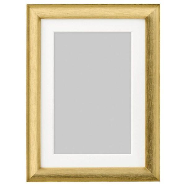 СИЛВЕРХОЙДЕН Рама, золотой 13x18 см | 703.704.08