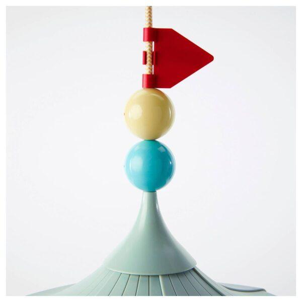 ТРОЛЛЬБО Подвесной светильник, светло-зеленый | 703.567.37