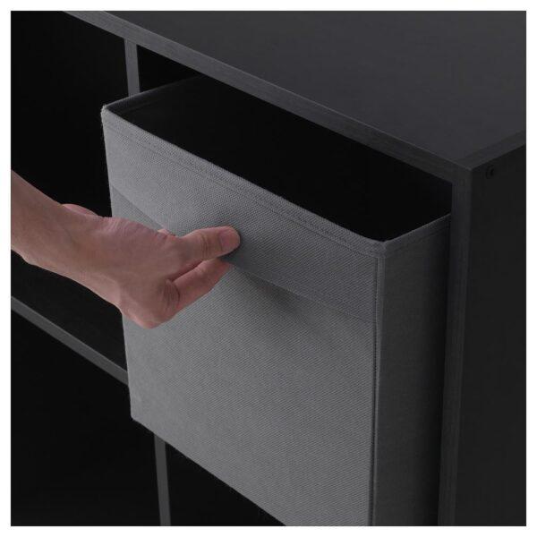 ФЮССЕ Коробка, темно-серый 30x30x30 см | 504.535.79
