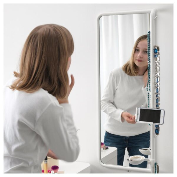 МЁЙЛИГХЕТ Зеркало, белый 34x81 см | 304.213.77