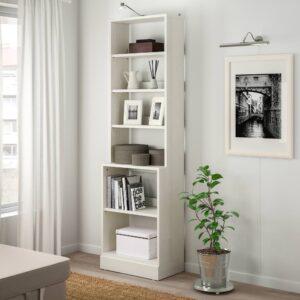 ХАВСТА Стеллаж с цоколем, белый 61x212x37 см | 503.886.35