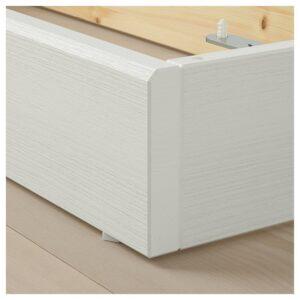 ХАВСТА Цоколь, белый 121x12x37 см | 003.886.66